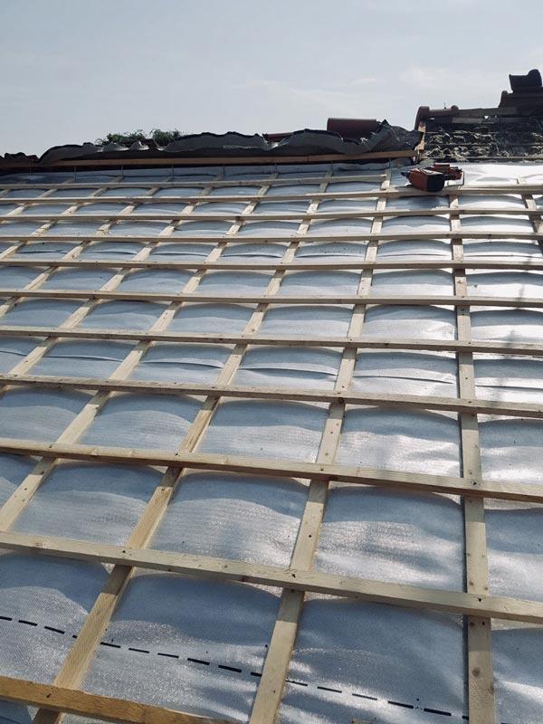 Traitement hydrofuge tuile beton