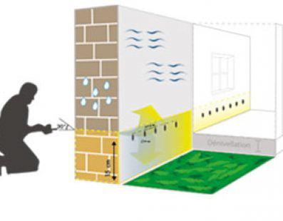 traitement murs humide
