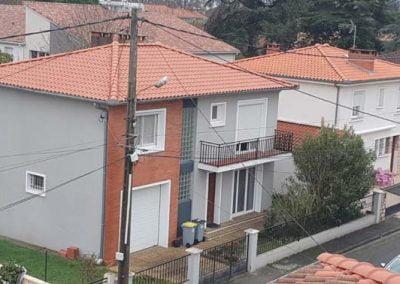 Rénovation des étanchéités et traitement de la tuile pour ces 2 maisons voisines